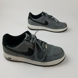 Nike air Force One AF1 Cool Gray Black size 13